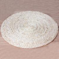 御目 禅修垫 蒲团玉米皮编圆形加厚拜垫跪垫打坐垫榻榻米飘窗垫坐墩