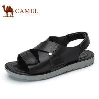 camel骆驼男鞋 2017夏季新品 凉鞋沙滩鞋子男士透气露趾凉鞋男