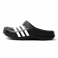 Adidas阿迪达斯 中性运动休闲沙滩拖鞋洞洞鞋 G62033 现