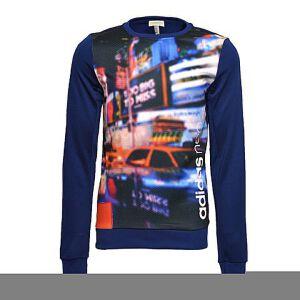 adidas阿迪休闲2017年新款男子休闲系列针织套衫BQ0466
