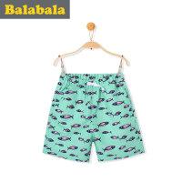 巴拉巴拉男童短裤小童中童童裤2017夏装新款儿童裤子男中童裤子