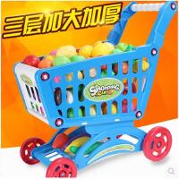超市儿童购物车过家家玩具仿真宝宝手推车小女孩厨房套装