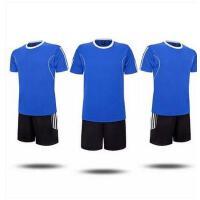 新款儿童足球服套装 宝宝小孩童装短袖球衣 亲子装