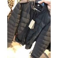 Burberry 黑色女士羽绒服搭配压带装饰 反季特卖折上折