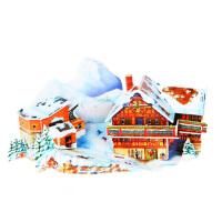 立体拼图儿童宝宝成人仿真3d纸模型梦幻城堡建筑别墅益智手工玩具