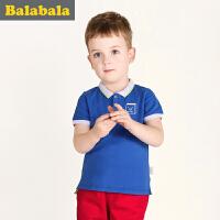 巴拉巴拉童装男童短袖T恤幼童上衣2017夏装新款儿童夏衣上装男
