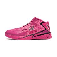 361度男鞋RUBESTTECH耐磨篮球鞋低帮粉色战靴水泥地球鞋