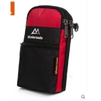 穿皮带腰包旅行健身挂包5.5寸双手机包 户外多功能贴身男士手机包