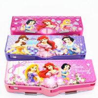 联众 迪士尼 学生塑料文具盒多功能韩国可爱创意铅笔盒 p5009-7