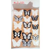 蝴蝶3D立体墙贴 卧室温馨浪漫创意客厅电视背景墙壁贴画冰箱贴纸