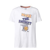 鸿星尔克(ERKE)童装儿童运动T恤 男童篮球T恤 圆领套头T恤