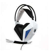 SADES/赛德斯 sa710 电脑游戏耳机头戴式 usb带声卡耳麦带话筒