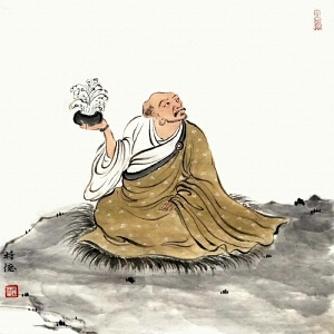 佛教题材《罗汉》