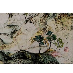 秦兴田(山水25)职业画家