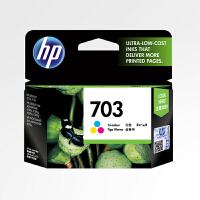 【当当自营】原装惠普/HP HP703 彩色墨盒 适用于 HP Deskjet D730/F735/K109A/K209A/K510A
