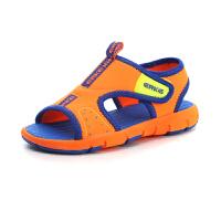 鸿星尔克(ERKE)小童鞋透气凉爽儿童凉鞋男童舒适沙滩凉鞋防滑轻便凉鞋