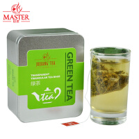 JUJIANG/巨匠 茉莉绿茶 透明立体三角茶包 袋泡茶包花草茶盒装36g