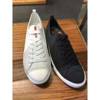 Prada 黑色白色两色可选男士帆布鞋
