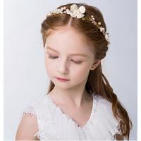 新款时尚女童饰品头饰  花童婚纱发饰配饰 新年水晶头箍儿童发箍