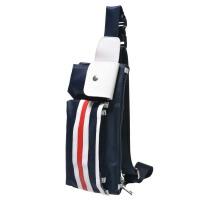 男包小背包单肩斜挎跨包男士胸包包腰包