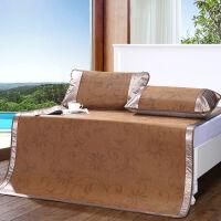 [当当自营]富安娜家纺 馨而乐 凉席件套夏季空调席折叠席子 清凉席三件套 玲珑 棕色 1.5*2米