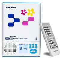 【当当自营】熊猫(PANDA) F-385携式CD随身听VCD机英语复读机DVD机插卡U盘播放