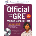 GRE THE OFFICIAL GUIDE TO THE REVISED GE GRE Official Guide(OG)《GRE官方指南OG》新版 美国研究生入学考试,适用于除法律与商业外的各专业。 当当5星级留学考试产品