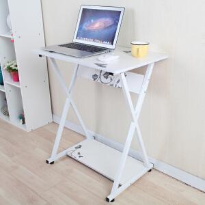 美达斯 电脑桌 简易电脑桌 笔记本电脑桌 办公学习桌子 懒人边桌