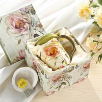 爱屋格林带盖茶隔茶漏水杯子茶杯陶瓷咖啡杯马克杯礼盒年会礼品