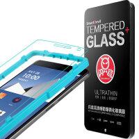 闪魔 一加2钢化玻璃膜一加二代手机钢化膜 1+2高清防指纹防爆贴膜