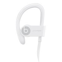 Beats Powerbeats 3 Wireless 无线蓝牙耳机 入耳式运动耳机 耳挂式跑步音乐耳机 (带麦) 超长待机 充电5分钟播放1小时 白色