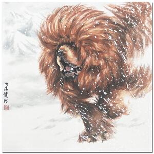 中国一獒 王贵邱《雪域雄风》