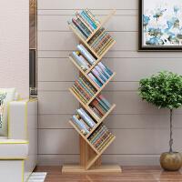 御目 书架 现代简约创意树形落地书架书柜组合简易书架儿童置物架学生落地卧室客厅满额减限时抢礼品卡创意家具
