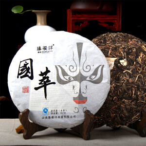 2014年 秦凝详(国萃布朗古树)生茶 357克/饼 28饼