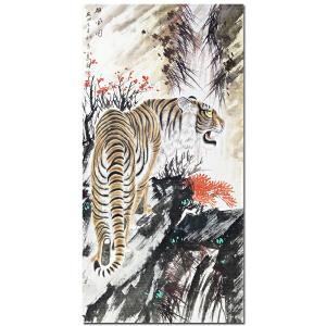 中国美术家协会员马志远《雄风图》