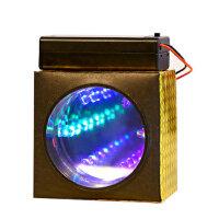 儿童礼品科技小制作 科普器材科学实验玩具diy材料物理小发明灯光隧道
