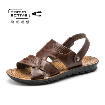 骆驼动感(camel active)夏季休闲男士沙滩凉鞋