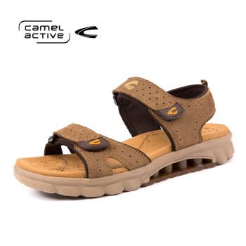 骆驼动感(camel active)夏季休户外闲凉鞋简约沙滩鞋