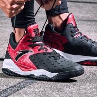 安踏男鞋篮球鞋 2017新款高帮减震防滑耐磨运动鞋训练篮球战靴男91731101