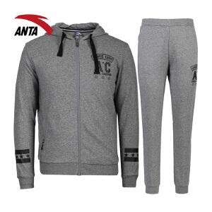 【安踏官方】安踏2015秋季新款男子运动服运动套装针织运动套男士95538201