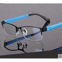 超轻变色眼镜户外新款男防辐射防紫外线电脑护目镜韩版时尚全框配平光近视镜片