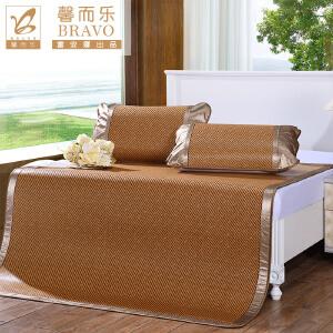 [当当自营]富安娜家纺 馨而乐 凉席件套夏季空调席折叠席子 清凉席三件套 馨香 棕色 1.5*2米
