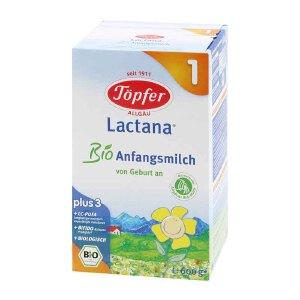 德国原装Topfer特福芬婴幼儿有机奶粉1段(0-6个月宝宝)600g 1罐装(保质期到2017年6月)