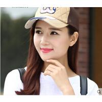 韩版潮户外 棒球帽子女嘻哈帽鸭舌帽运动帽遮阳帽防晒太阳网帽