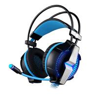 因卓 G7000耳麦7.1声道耳机头戴式电脑通用重低音震动usb接头
