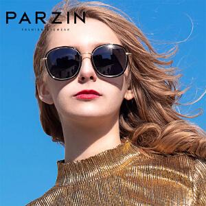 帕森偏光太阳镜 男女时尚大框彩膜潮墨镜开车驾驶镜 2017新品9905
