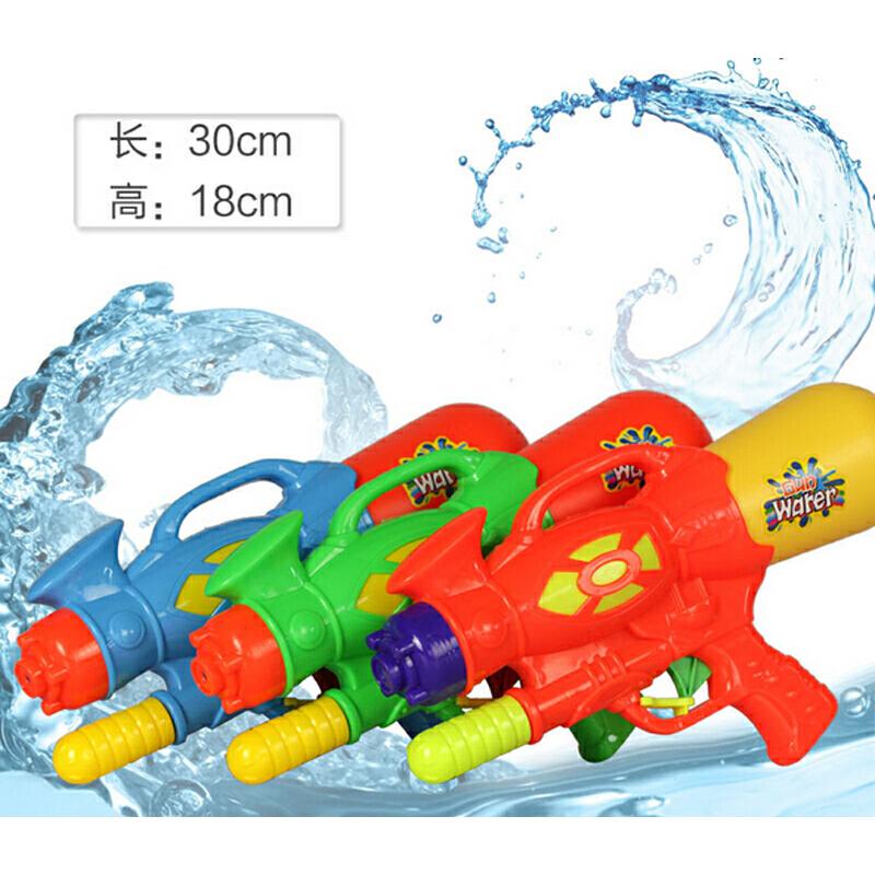 抽拉式高压水枪 戏水玩具地摊玩具沙滩必备