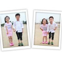 阿童木女童运动凉鞋包头儿童2017夏季新款软底小童韩版小孩沙滩鞋