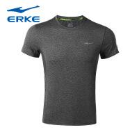 鸿星尔克2017新品圆领短袖T恤 透气吸汗轻便运动短T上衣