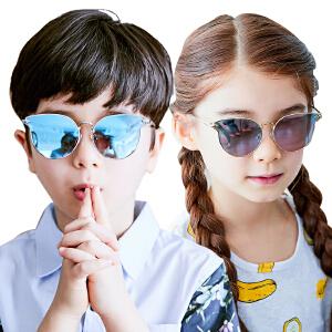 kocotree新款儿童墨镜男女童个性时尚舒适可爱防紫外线宝宝太阳镜眼镜